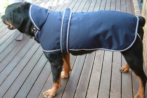 Water Proof Dog Hooded Jacket 65cm