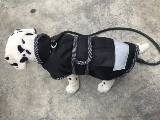 Water Proof Dog Hooded Jacket 35cm